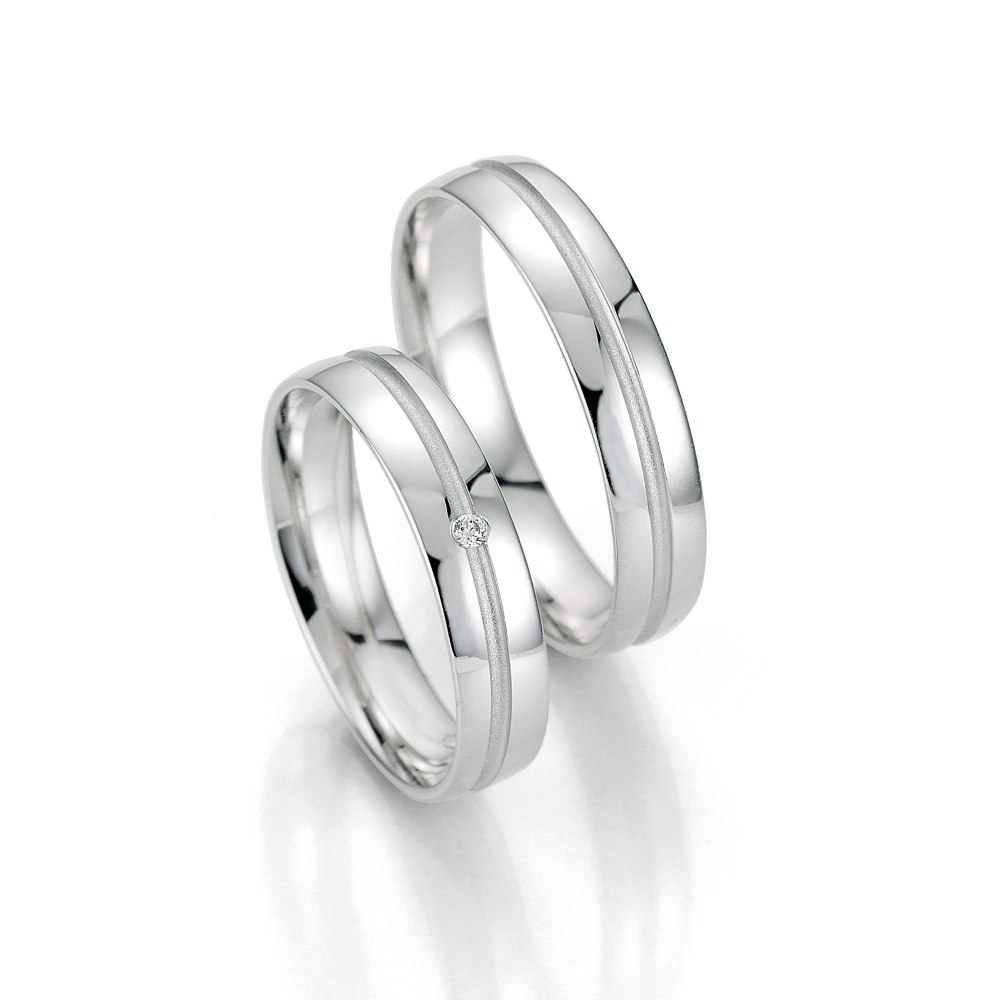 KESSARIS Diamond Wedding Bands CK04