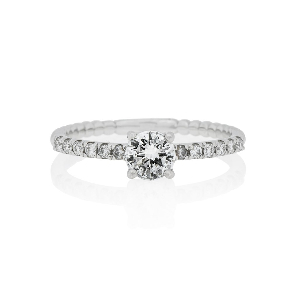 KESSARIS Brilliant Cut Diamond Engagement Ring DAE172430