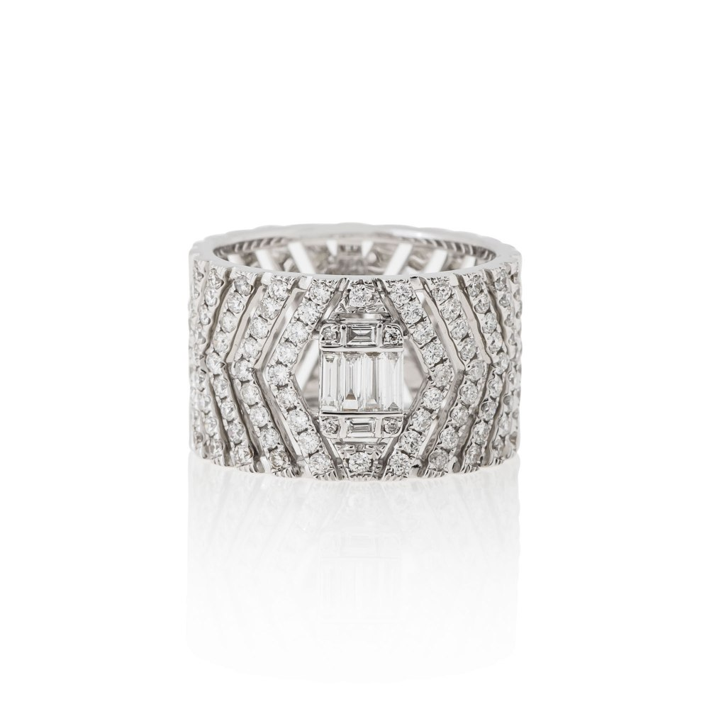 KESSARIS White Gold Diamond Ring DAE172698