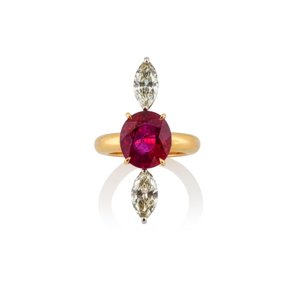 ANASTASIA KESSARIS Ruby Diamond Ring DAP123329