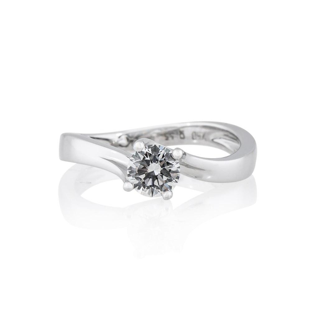 KESSARIS Solitaire Brilliant Diamond Ring DAP180474