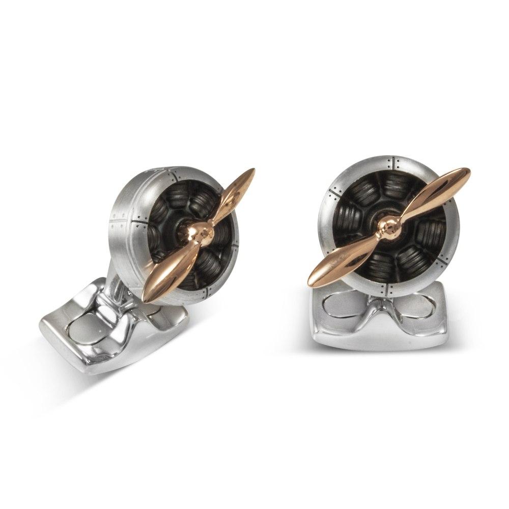 DEAKIN & FRANCIS Sopwith Propeller Cufflinks BMC0001C0001