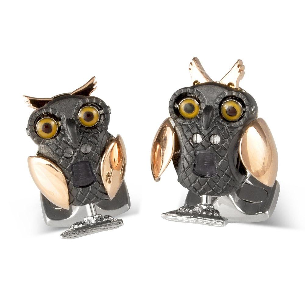 DEAKIN & FRANCIS Moving Owl Cufflinks BMC0008C0001