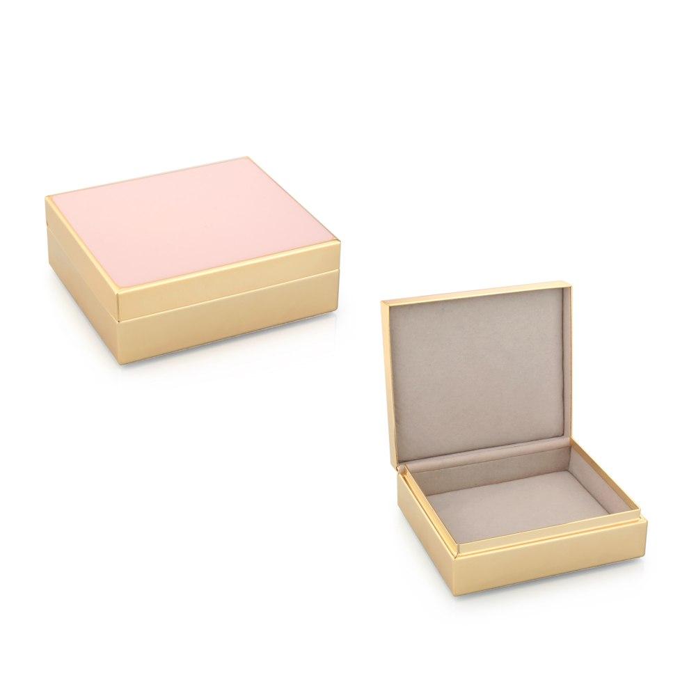 ADDISON ROSS Pink Jewelry Box BX1016