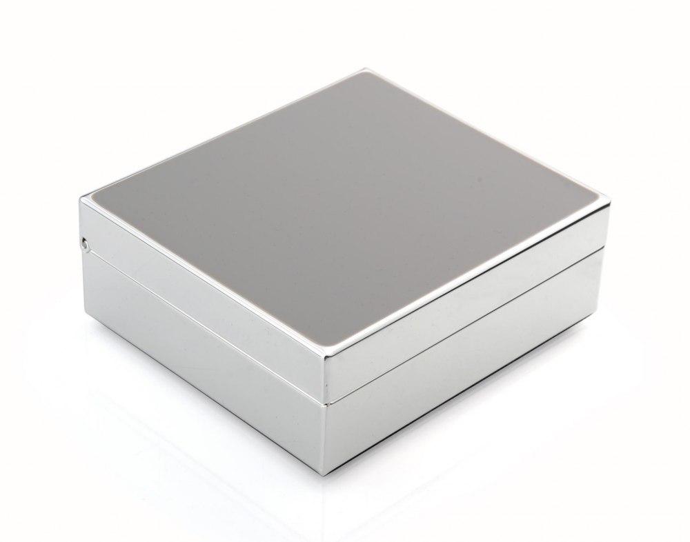 ADDISON ROSS Grey Jewelry Box BX1012
