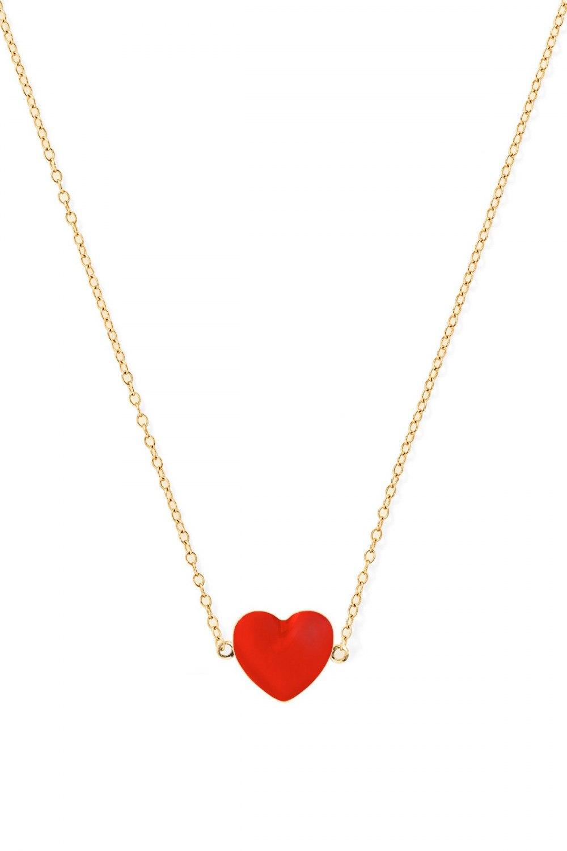ALISON LOU Heart Necklace KOE181511