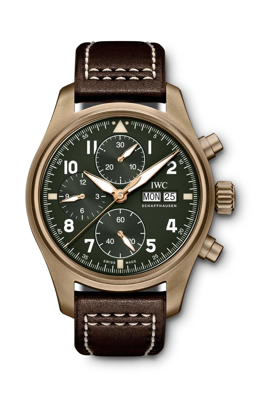 IWC SCHAFFHAUSEN Pilot's Watch Chronograph Spitfire IW387902