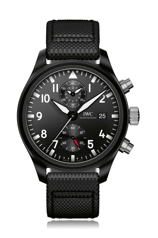 IWC SCHAFFHAUSEN Pilot's Top Gun Automatic Chronograph Watch IW389001