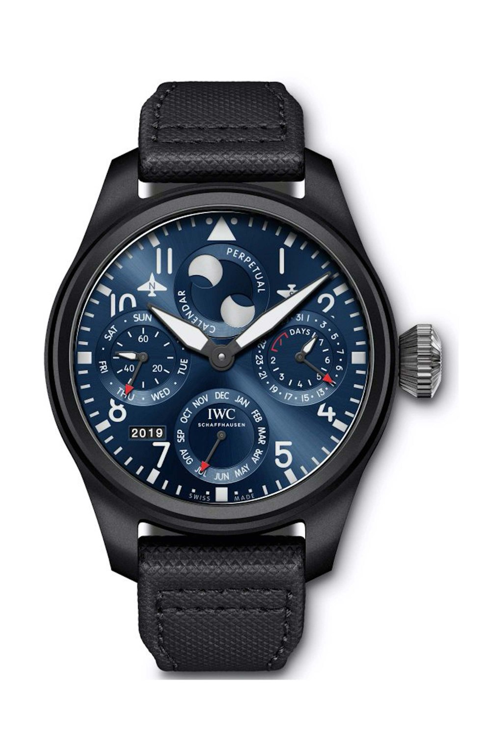 IWC SCHAFFHAUSEN Big Pilot's Watch Perpetual Calendar Edition