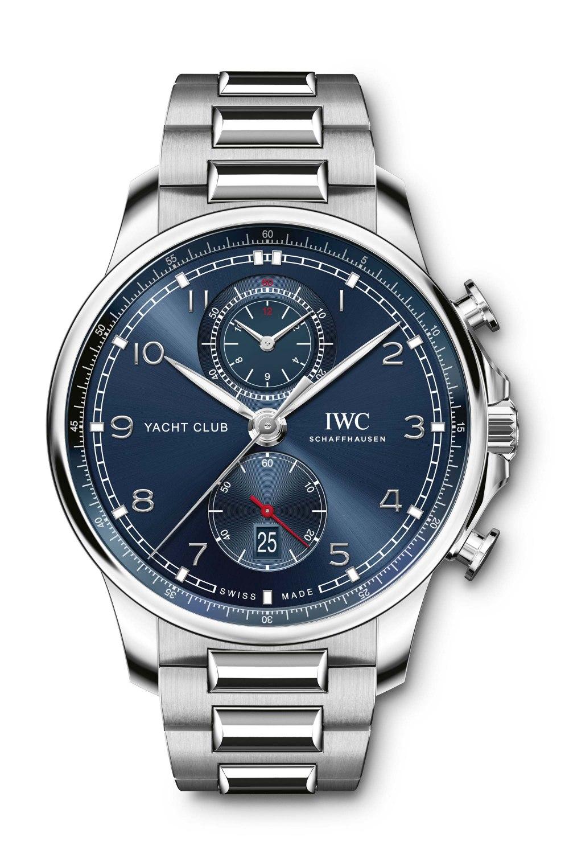 IWC SCHAFFHAUSEN Portugieser Yacht Club Chronograph Blue Dial IW390701