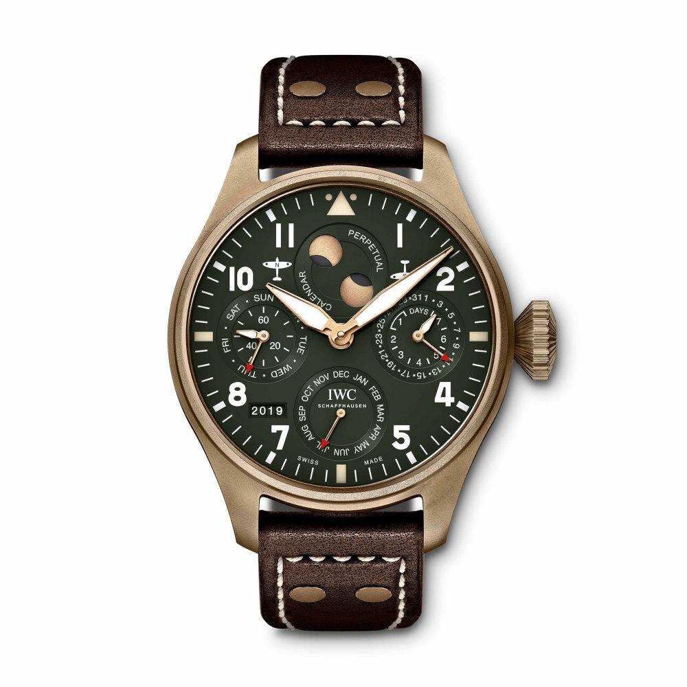 IWC SCHAFFHAUSEN Big Pilot's Watch Perpetual Calendar Spitfire IW503601