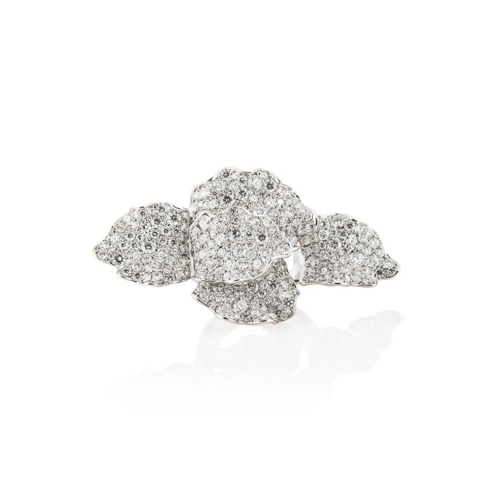 KESSARIS Diamond Layered Organic Ring DAP171777