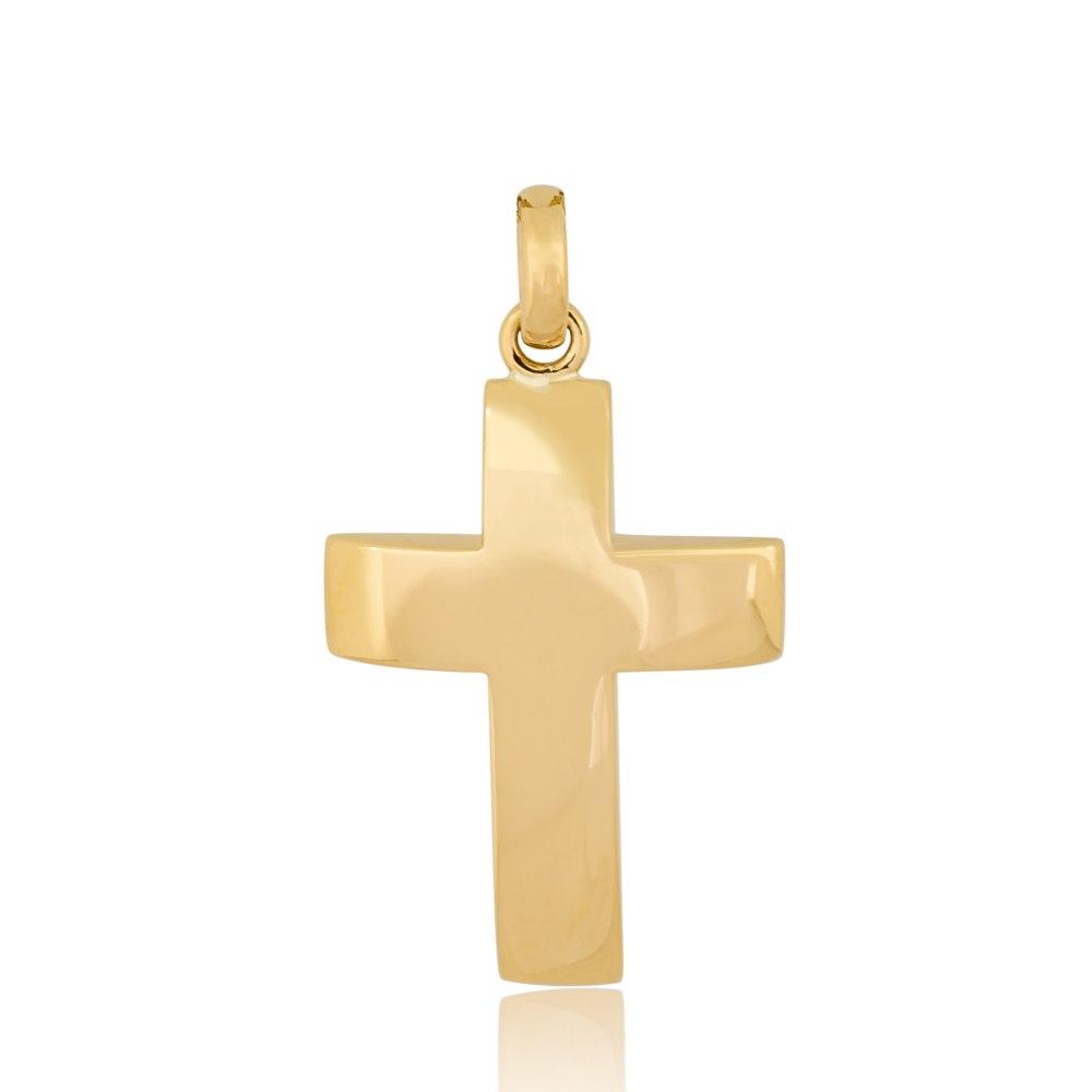 KESSARIS Gold Cross Pendant STP180025