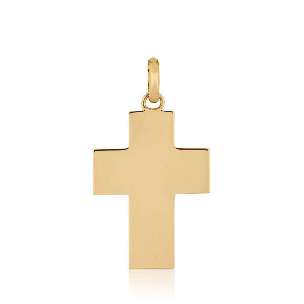 KESSARIS Gold Cross Pendant STP170208