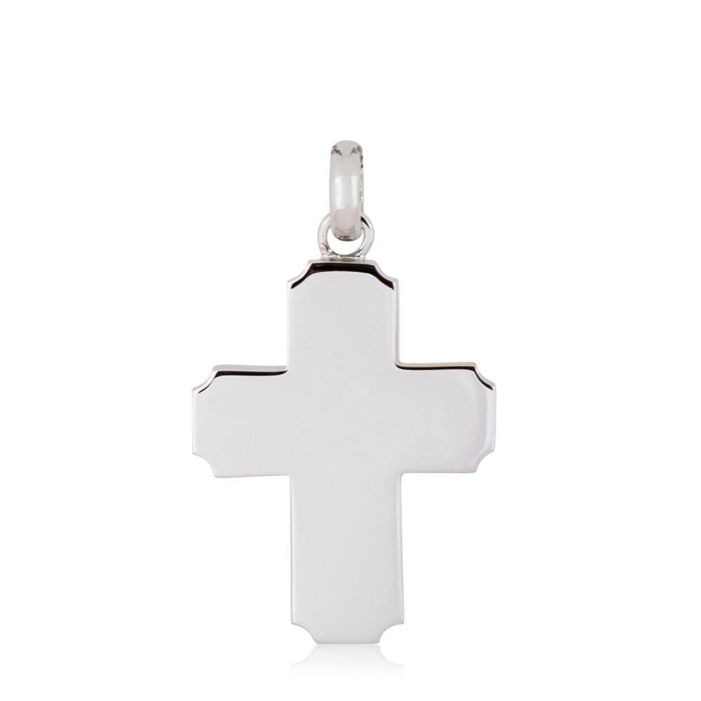 KESSARIS White Gold Cross Pendant STP180134
