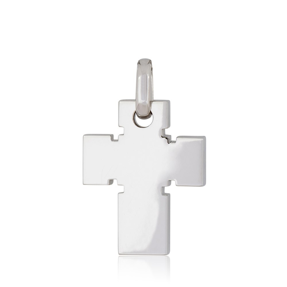 KESSARIS White Gold Cross Pendant STP180075
