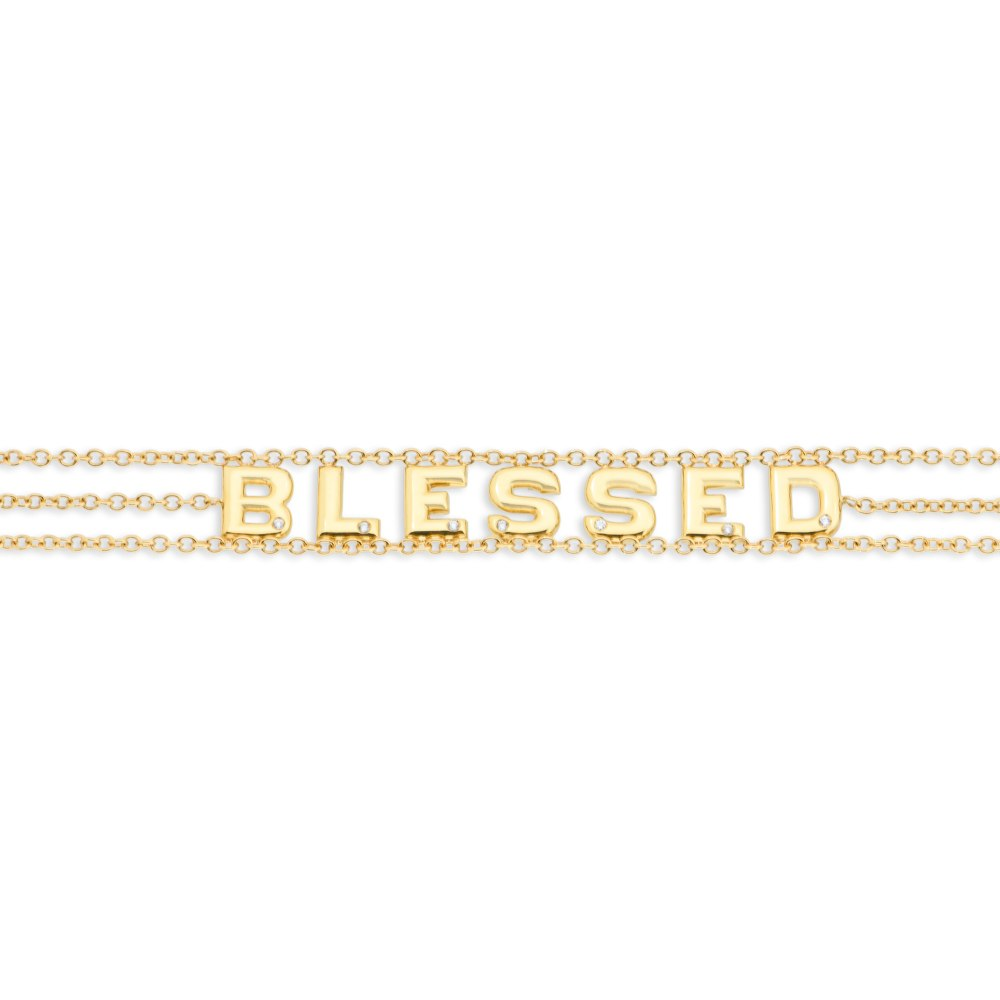 KESSARIS Blessed Diamond Bracelet BRE200653