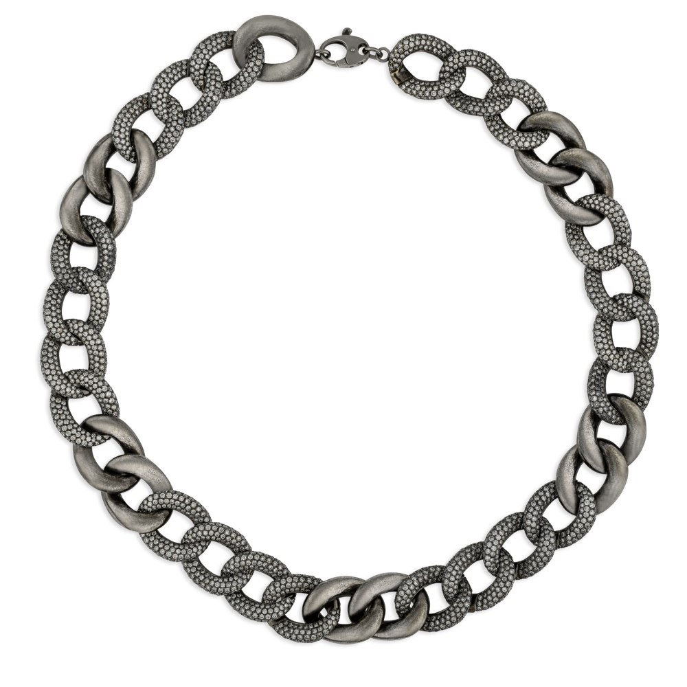 KESSARIS Diamond Chain Necklace KOP83159