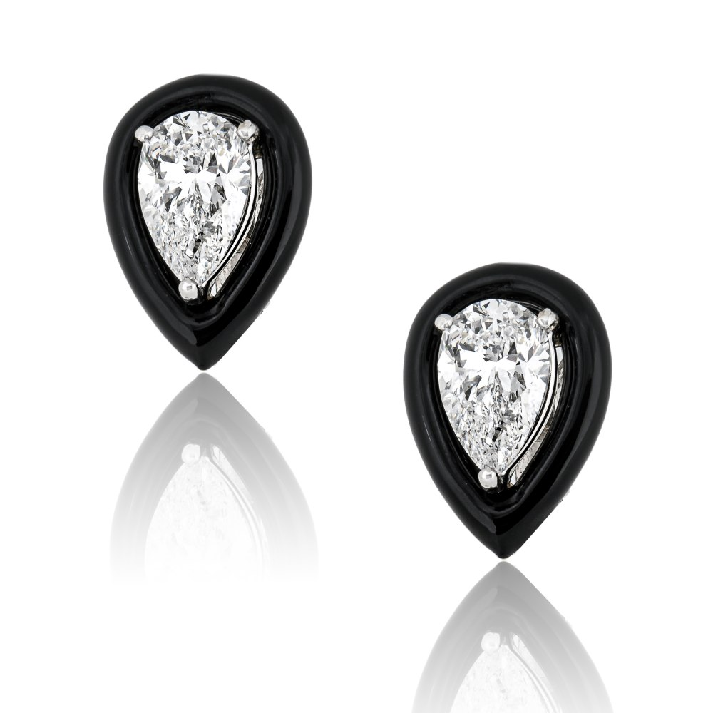 ANASTASIA KESSARIS Diamond Drop Earrings SKP190283
