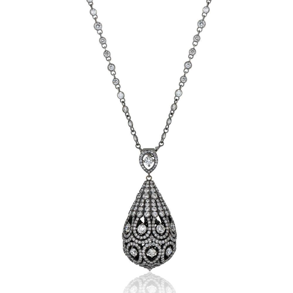 KESSARIS Diamond Necklace KOE131061