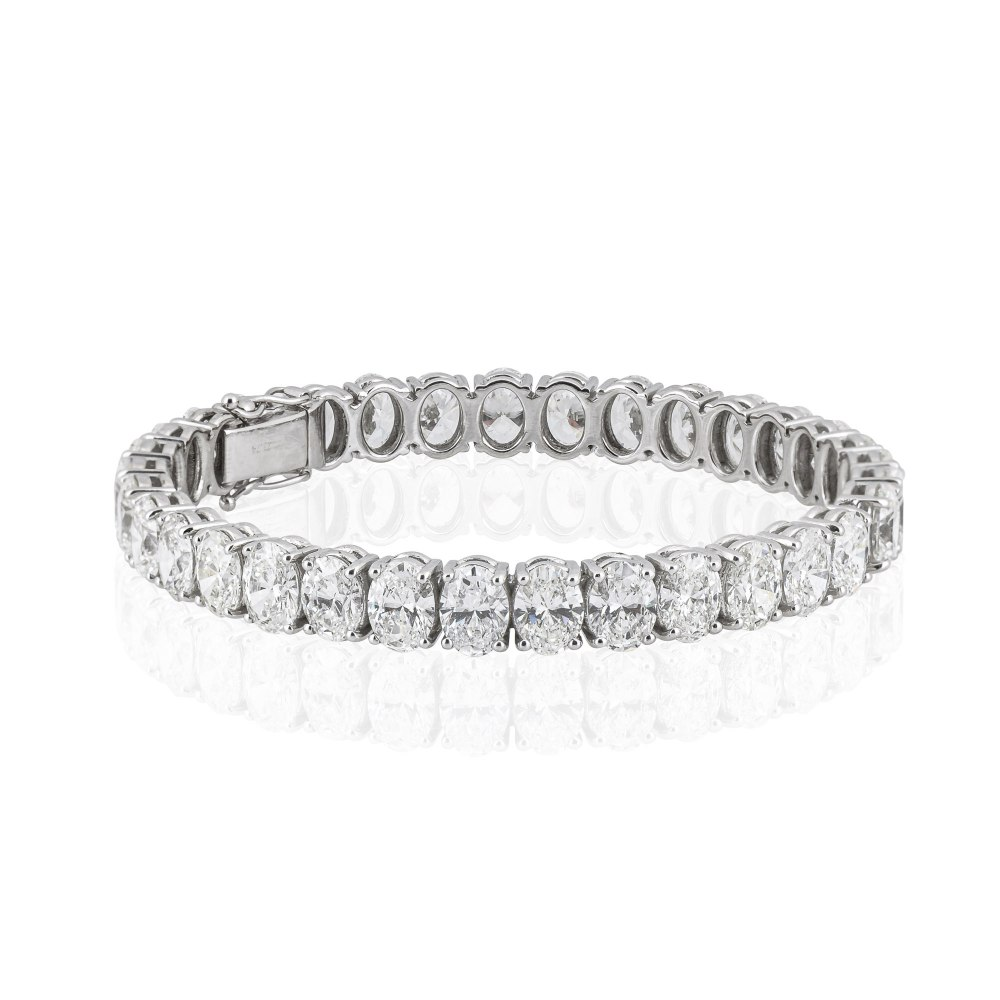 Kessaris-Diamond Tennis Bracelet