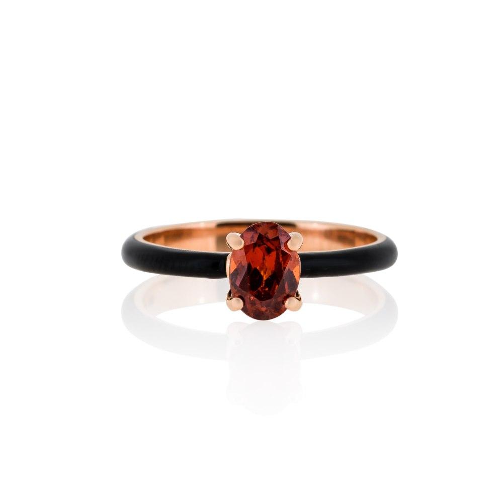 ANASTASIA KESSARIS Gold Enamel Ring DAE182789