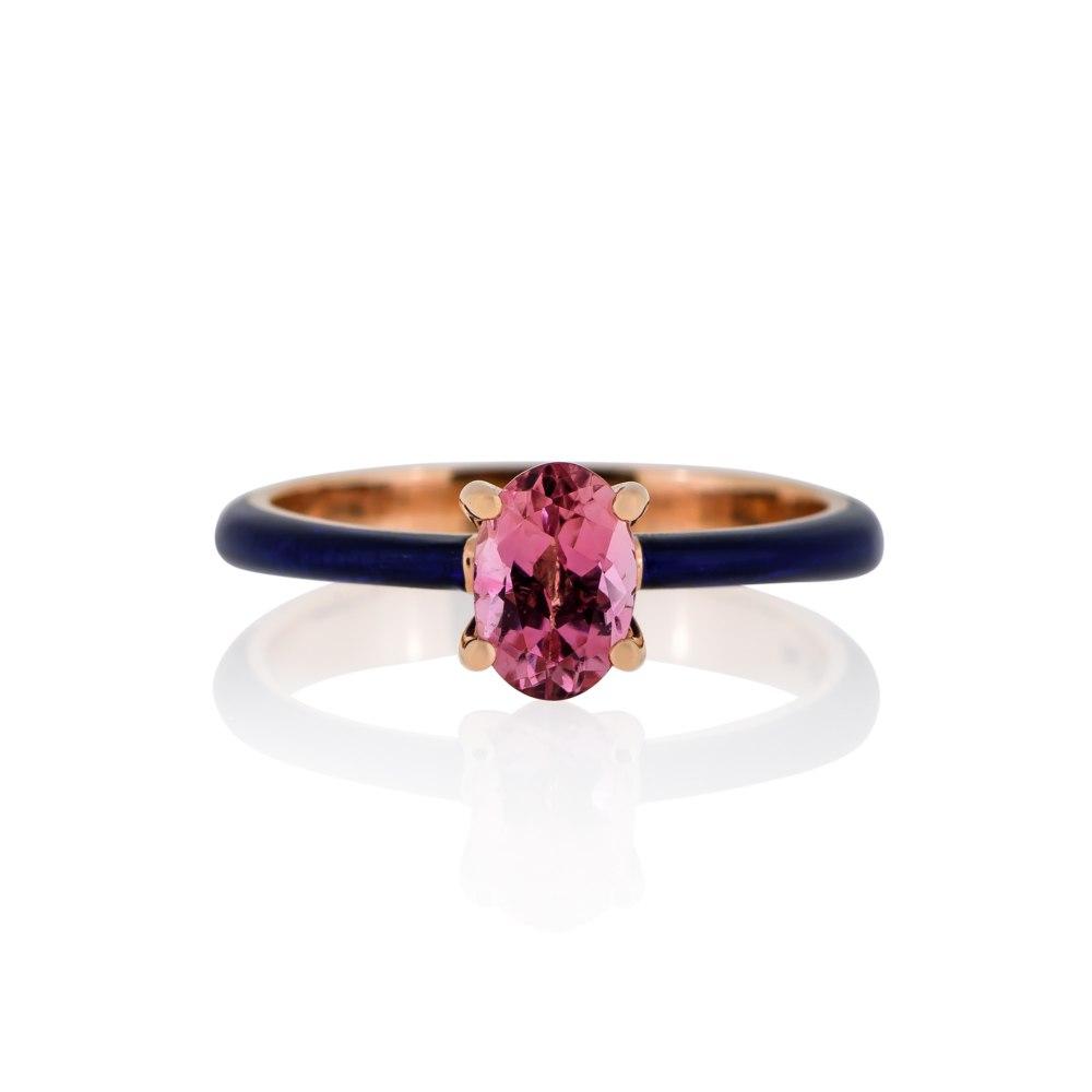 ANASTASIA KESSARIS Gold Enamel Ring DAE182790