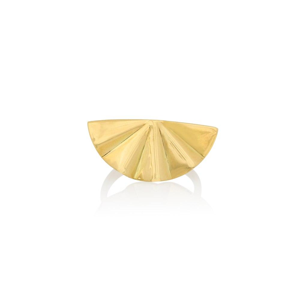 ANASTASIA KESSARIS Goldie Geisha Yellow Gold Ring DAP200148