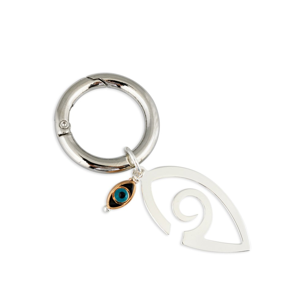 KESSARIS Lucky Charm 2020 Key Ring Silver Plated DFE199431_SL