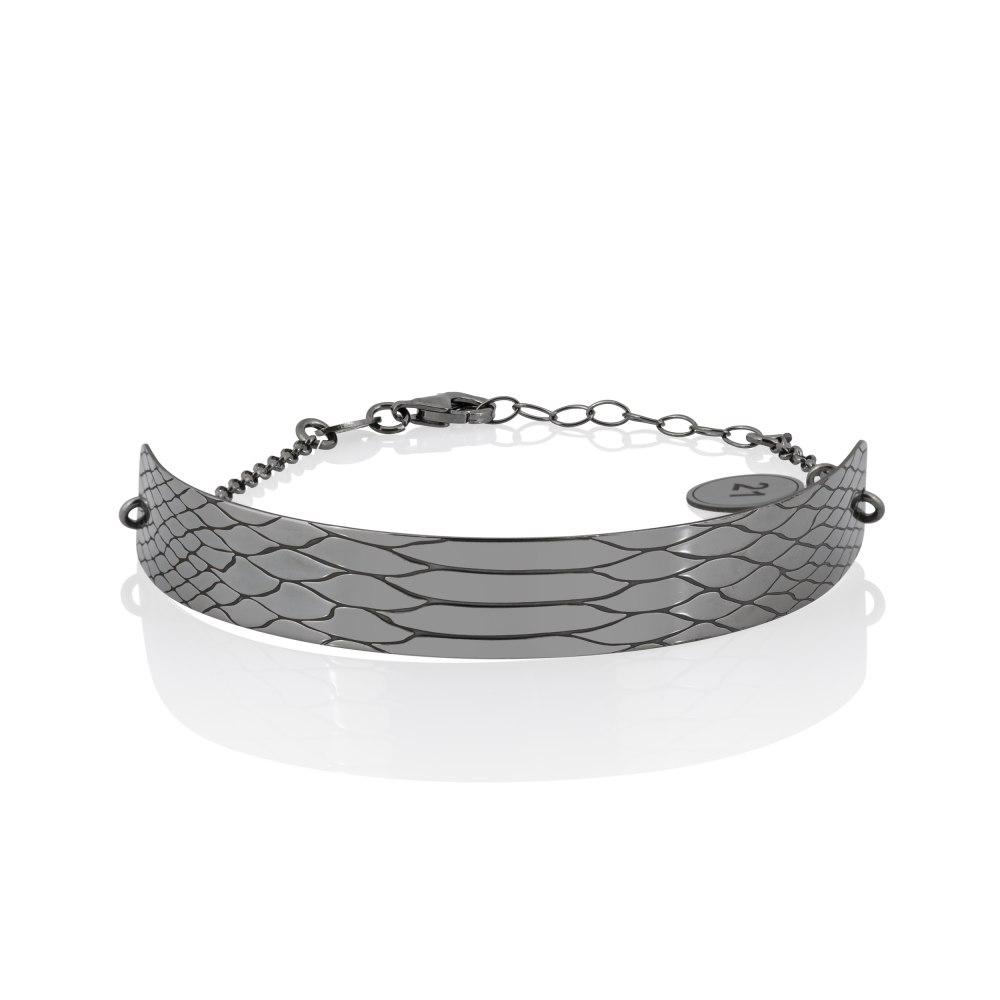 KESSARIS Lucky Charm 2021 ID Bracelet Silver DFE209311-SI