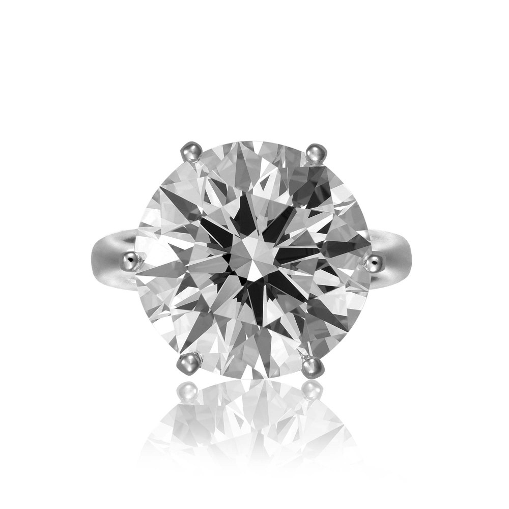 KESSARIS Brilliant Cut Diamond Ring DAP103512