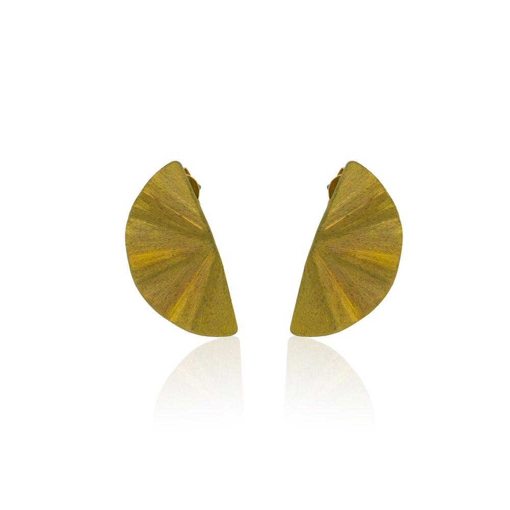 ANASTASIA KESSARIS Maiko Yellow Titanium Earrings A.ER.MT0001