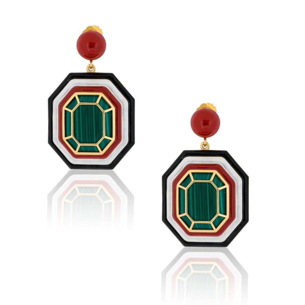 NEVER NOT Grab n Go - Ready 2 Avenue Earrings SKE191049