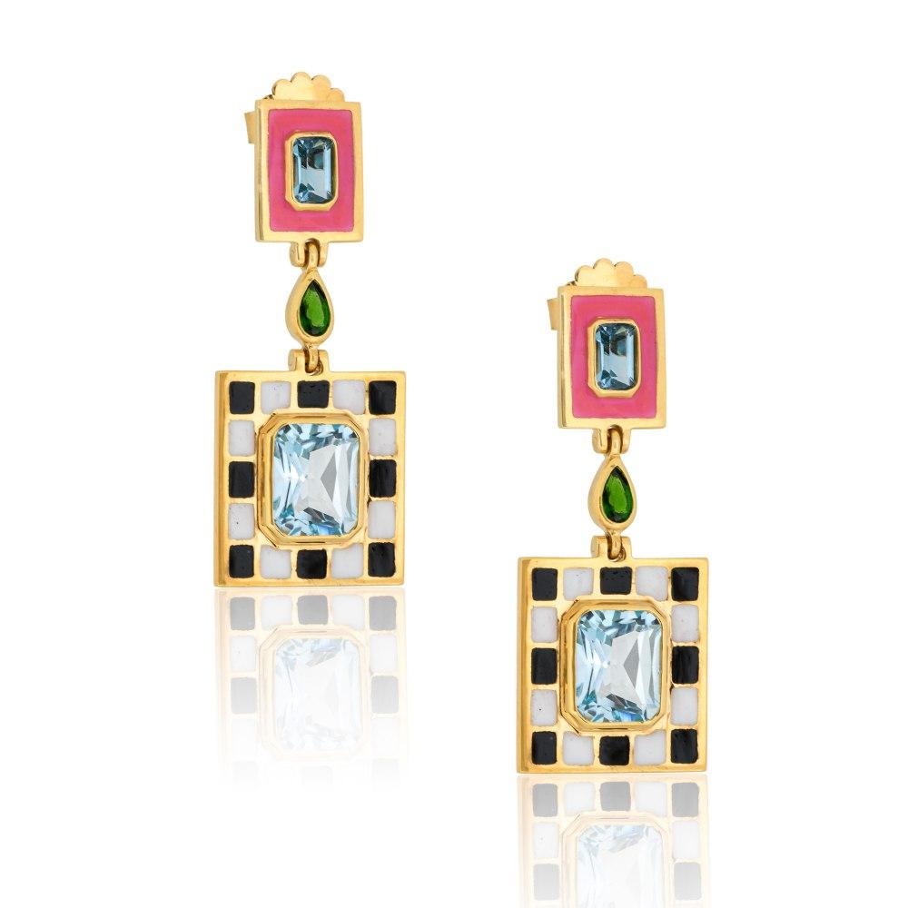 NEVER NOT Show n Tell Earrings TNN0014