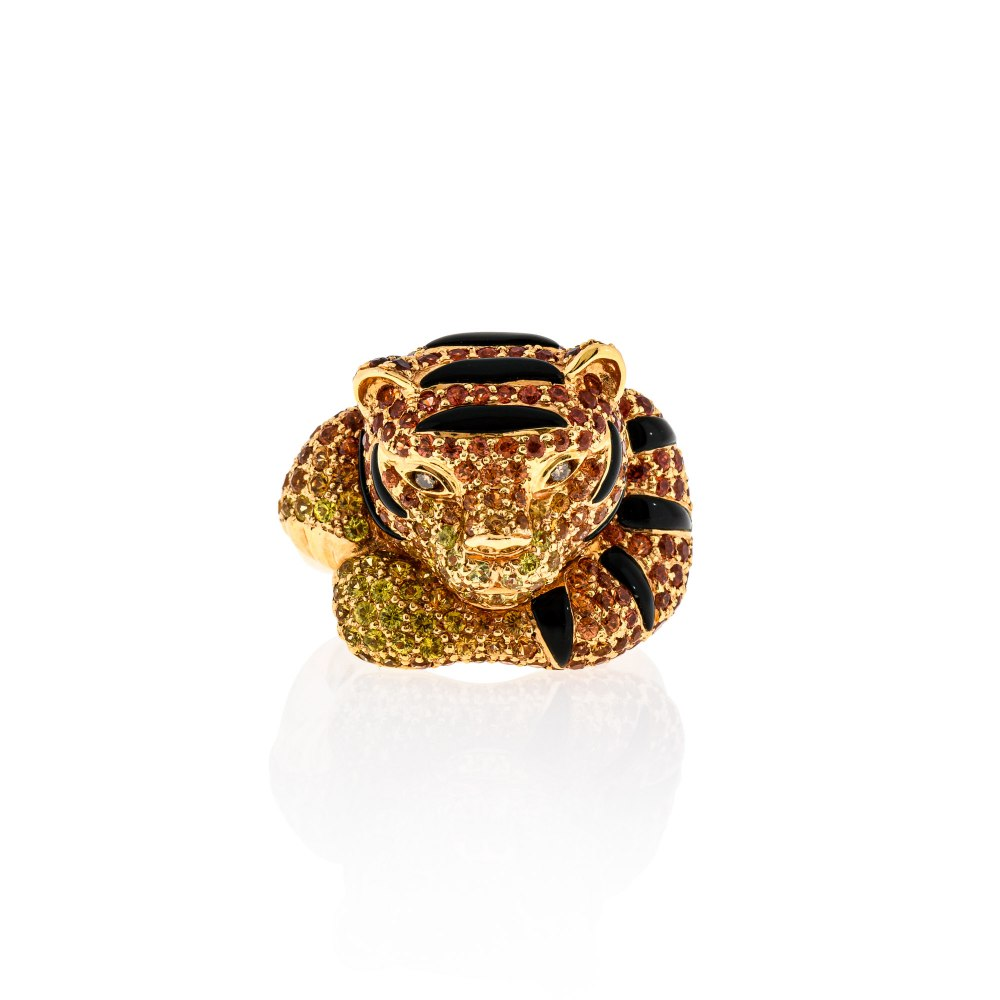 KESSARIS Regal Statement Ring DAE73237
