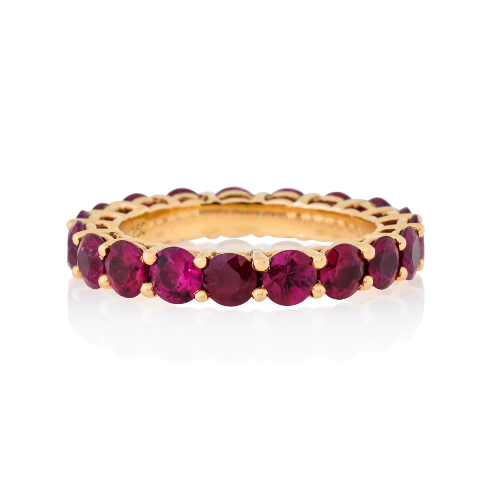 KESSARIS Gold Ring with Rubies BEE100717