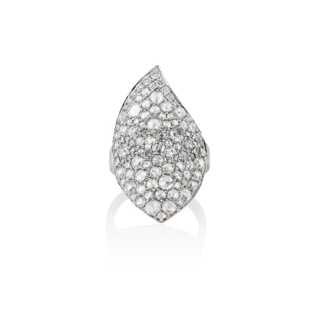 KESSARIS Rose Cut Diamond Ring DAE192687
