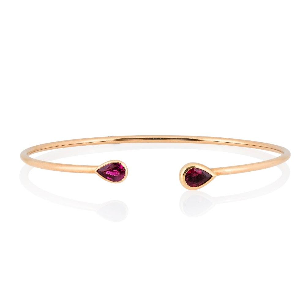 KESSARIS Ruby Bangle Bracelet BRE192502