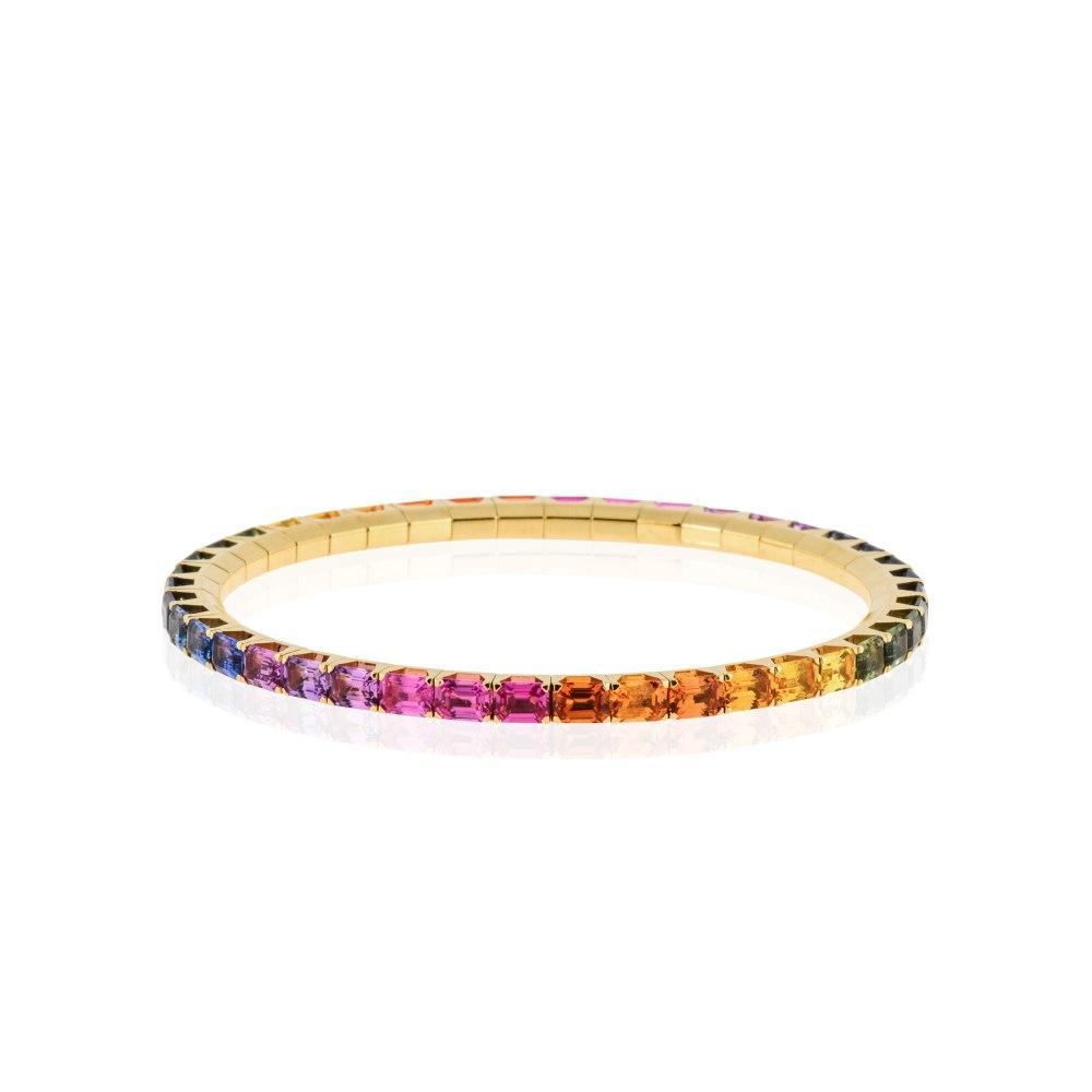 KESSARIS Rainbow Sapphire Bracelet BRE190888