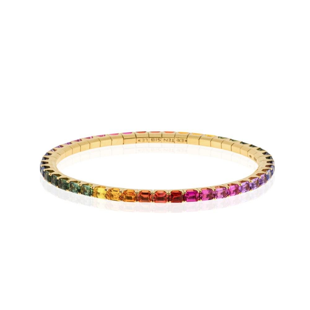 KESSARIS Rainbow Sapphire Bracelet BRE190889