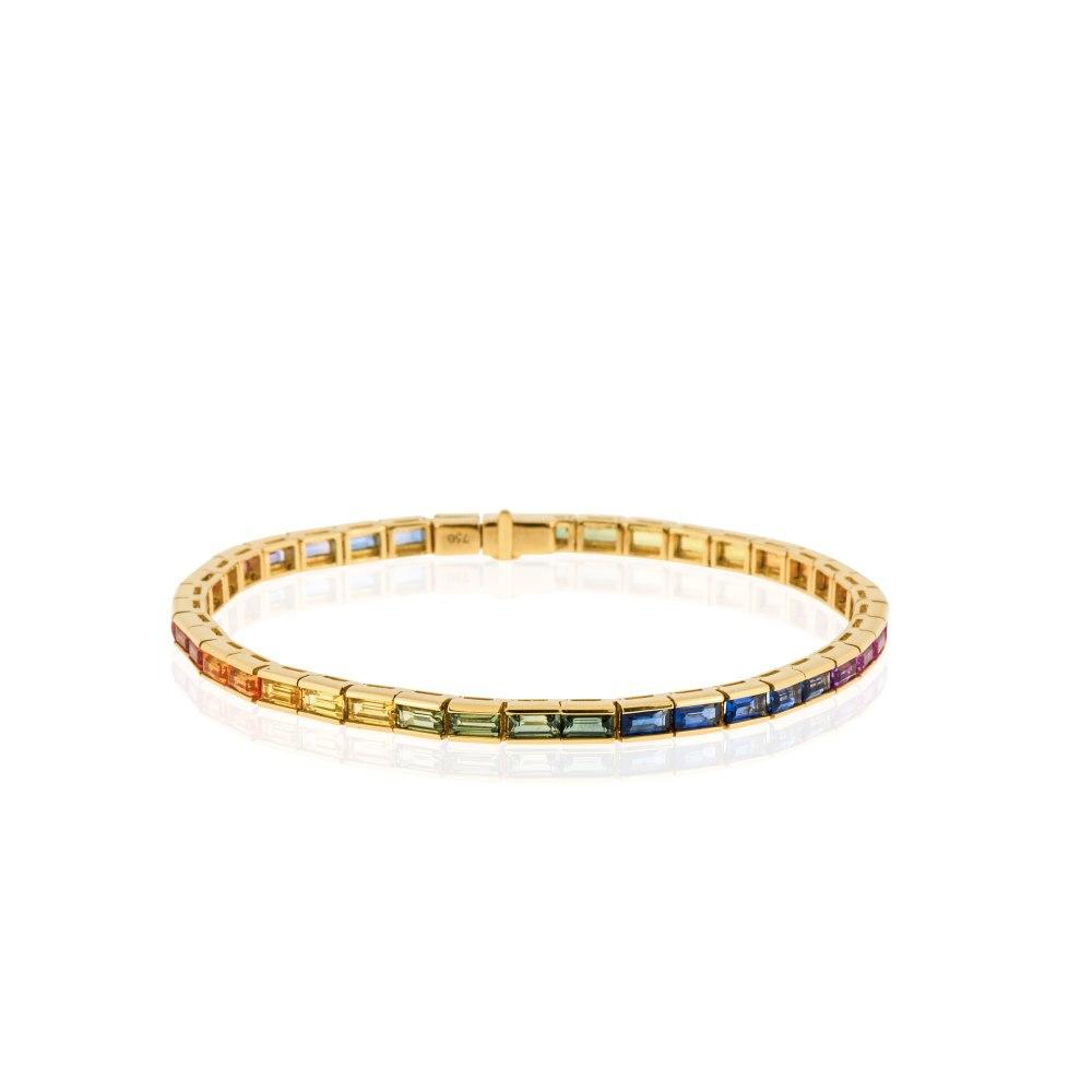 KESSARIS Rainbow Sapphire Bracelet BRE191168