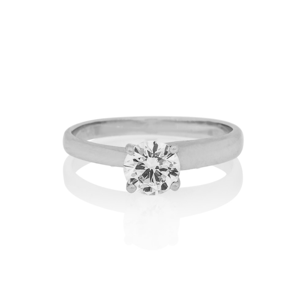 KESSARIS Solitaire Brilliant Diamond Ring DAP.180462