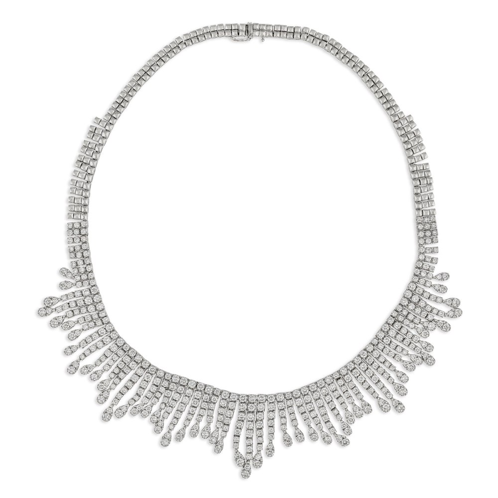KESSARIS Statement Diamond Necklace KO57215