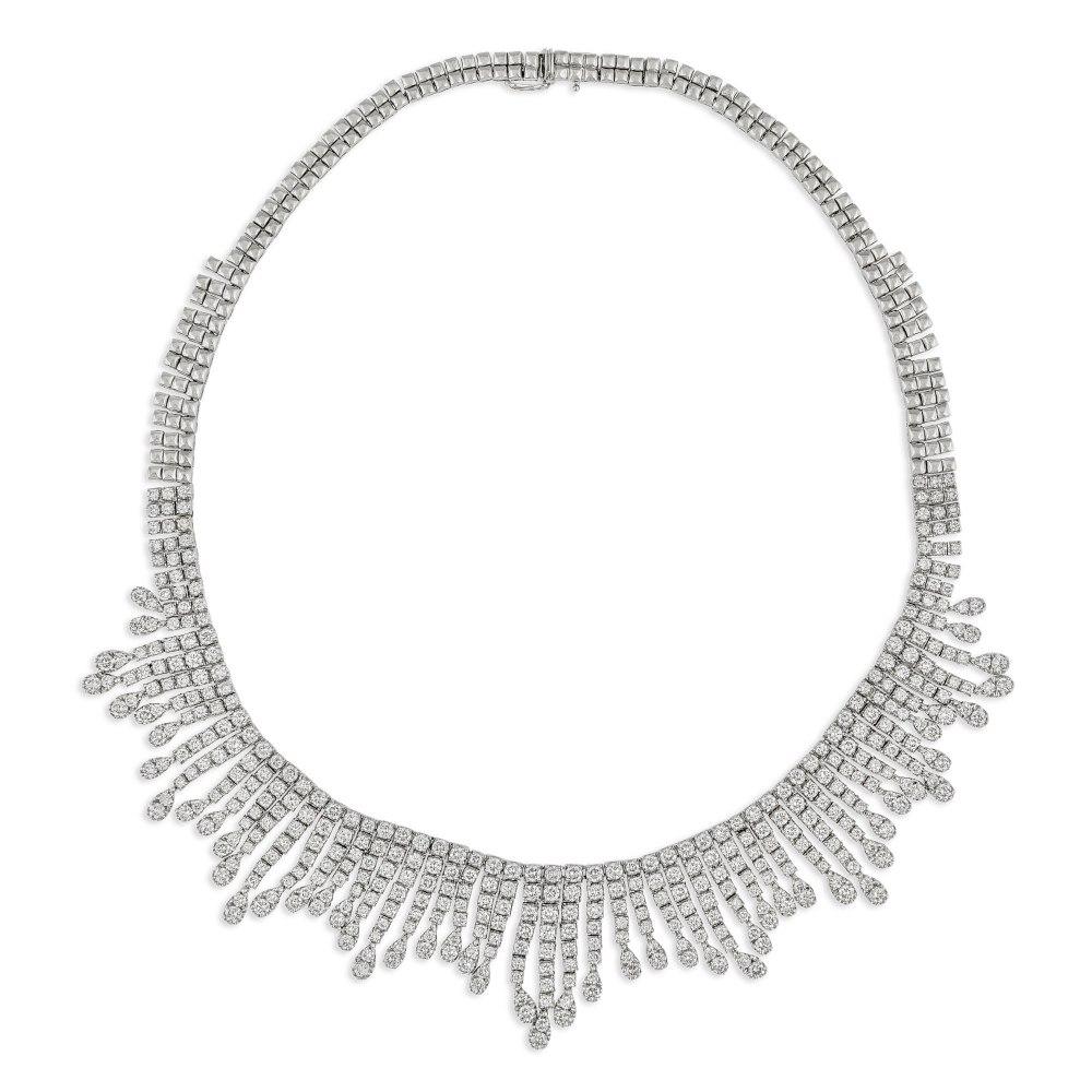 KESSARIS Statement Diamond Necklace KO57215