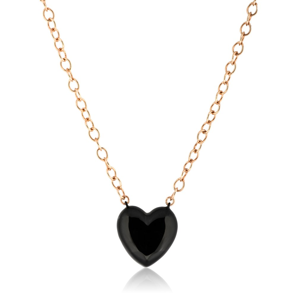 ANASTASIA KESSARIS Silver Heart Necklace DFP199019