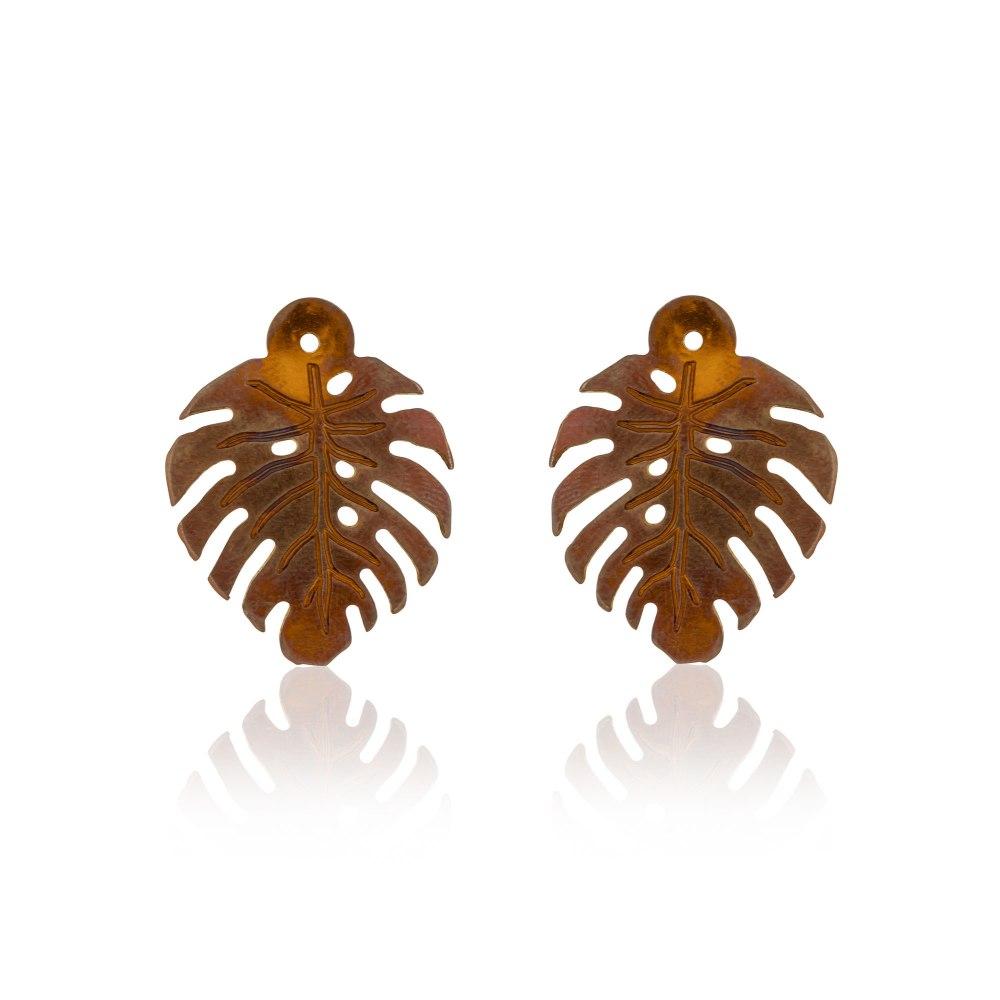 ANASTASIA KESSARIS Tropicalia Add-on Copper Titanium Earrings SKE180987-COPPER