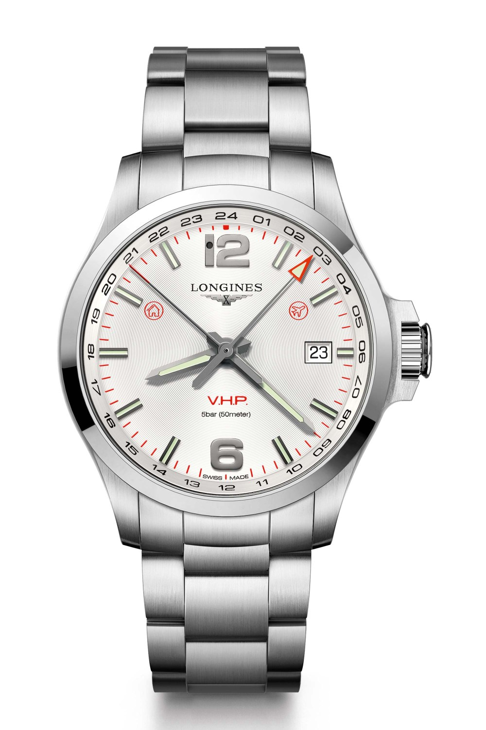 LONGINES Conquest V.H.P. GMT L37284766