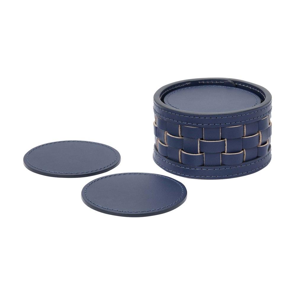 Kessaris-Riviere-Navy Blue Drink Coaster