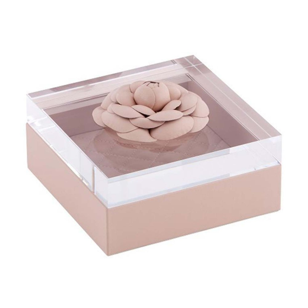RIVIERE Pink Leather Box DFE209158-PI