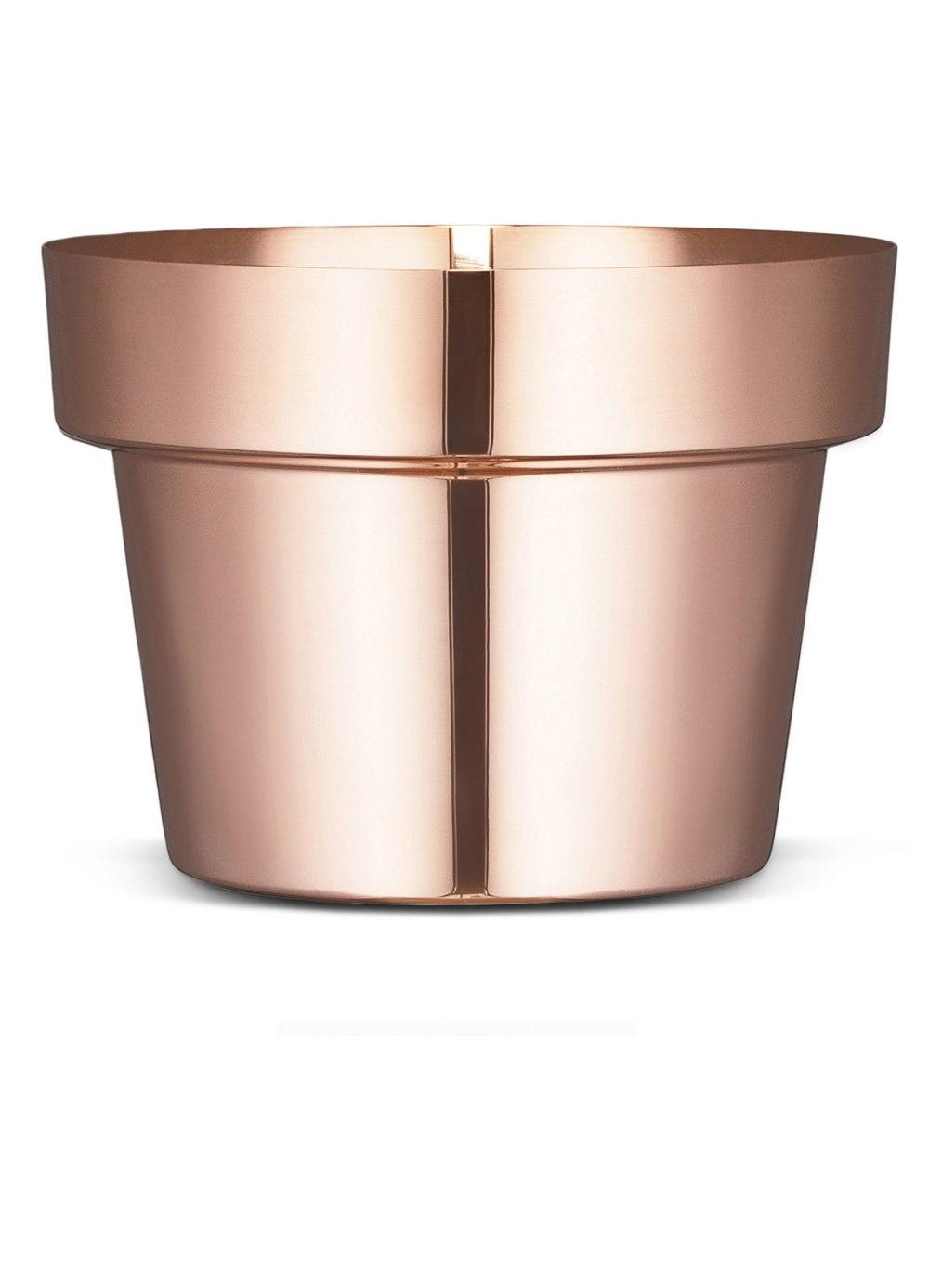 SKULTUNA Flower Pot Polished Copper Large DFE169069